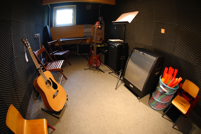 Studio muzyczne Świat Gitary w Poznaniu